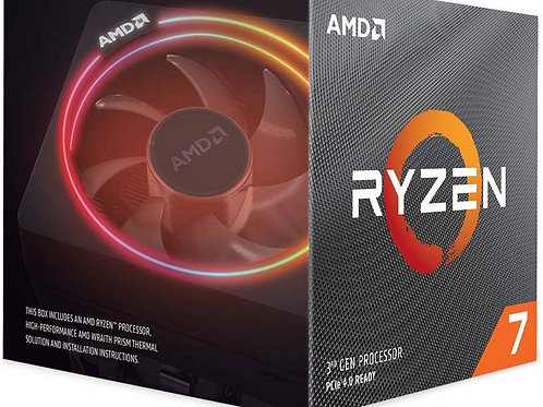 AMD Ryzen 7 3700X 8-Core, 16-Thread Unlocked Desktop Processor with Wraith Prism