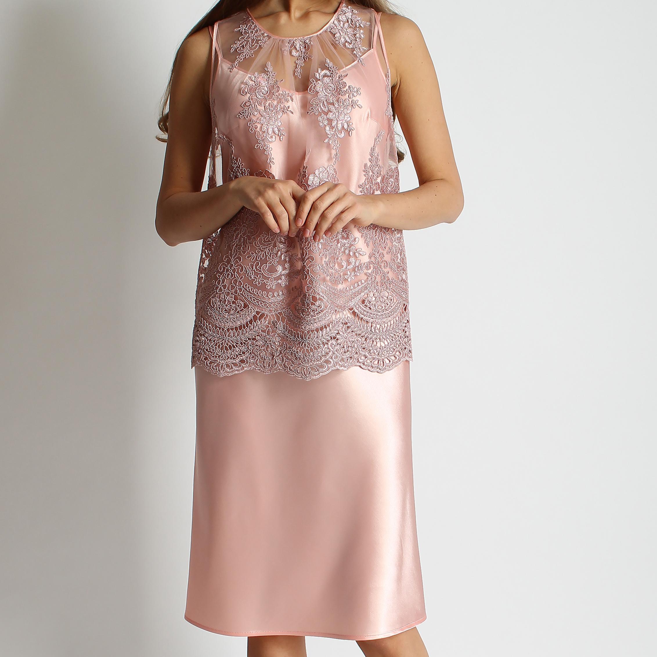 Топ и платье