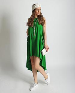 Платье из вискозы с шелком