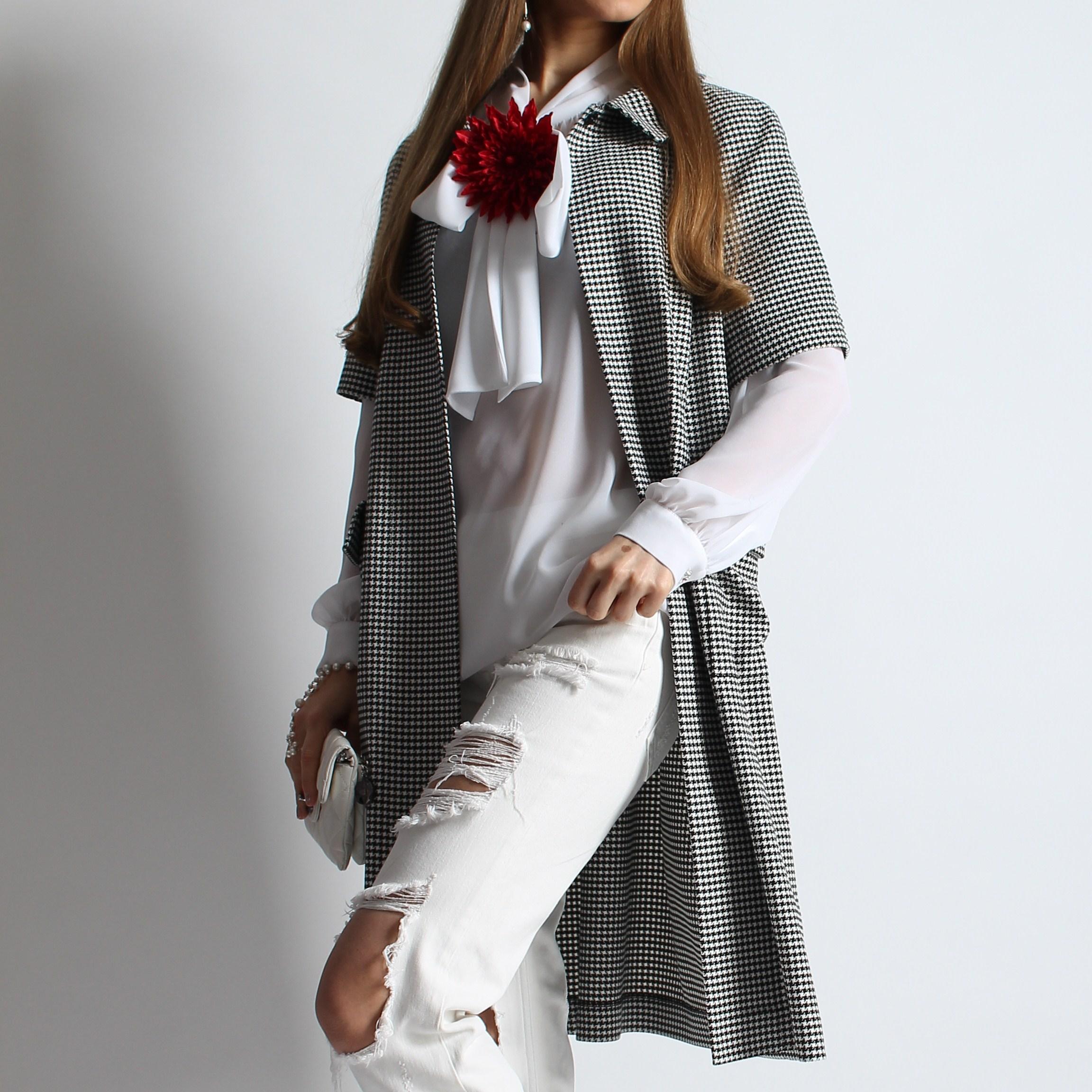 Блуза и пыльник
