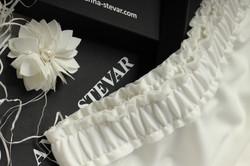 Обработка пояса у юбки