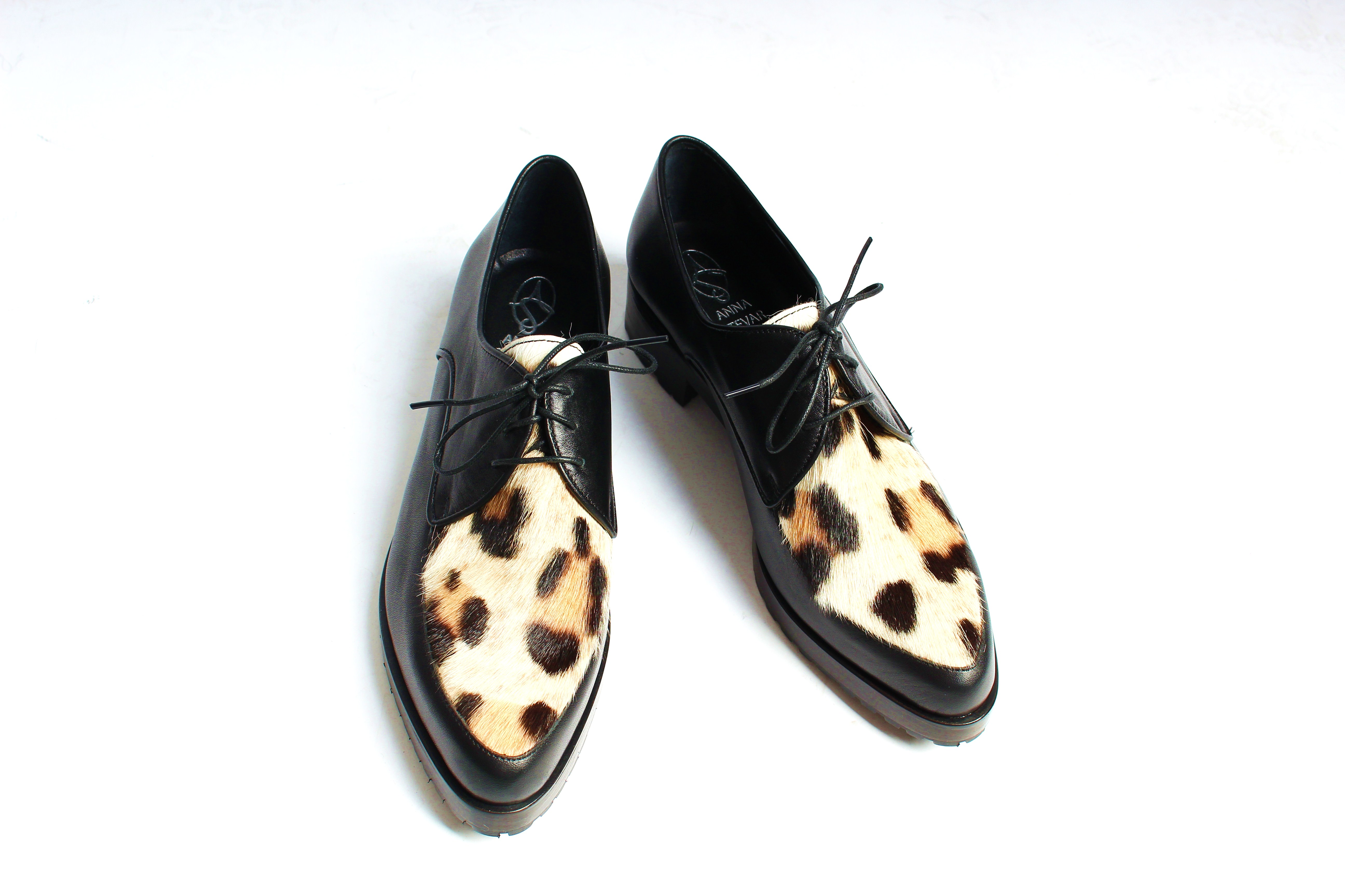 Ботинки с мехом козлика