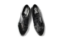 Ботинки с мехом норки