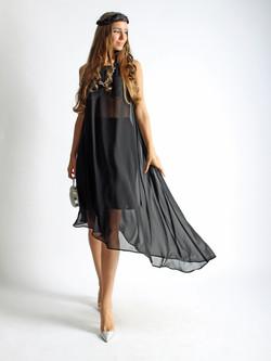Платье из шифона