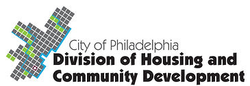 City of Philadelphia Divison of Housing and Community Development logo which links to their website