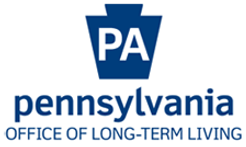 PA Office of Long-Term Living logo, which links to their website.