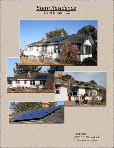 Stern residence, Grand Junction, CO