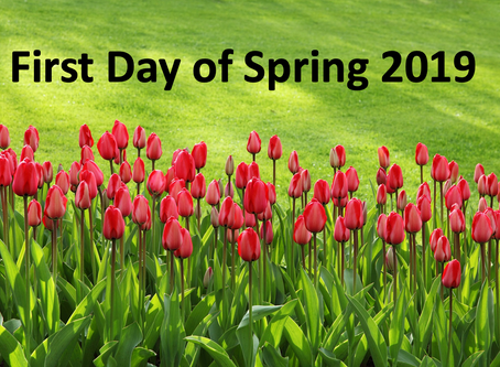First Day of Spring!
