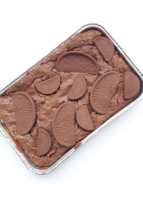 POSTAL Chocolate Orange Brownie Sharing Tray