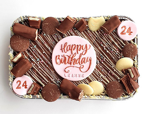 POSTAL Personalised Brownie Sharing Tray