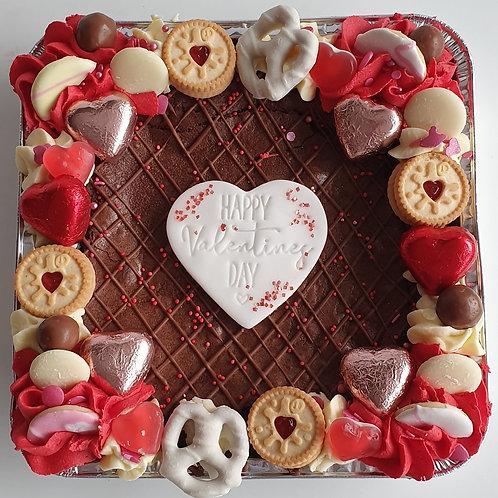 Valentines Brownie Tray