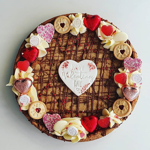 Giant Valentines Cookie