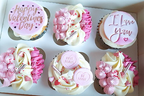 Box of 6 Cupcakes £15