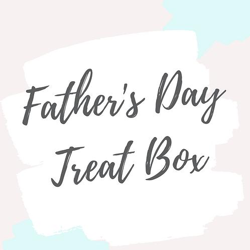 Father's Day Treat Box - WHITE CHOCOLATE £13