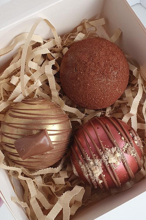 POSTAL Hot Chocolate Bombs x 3