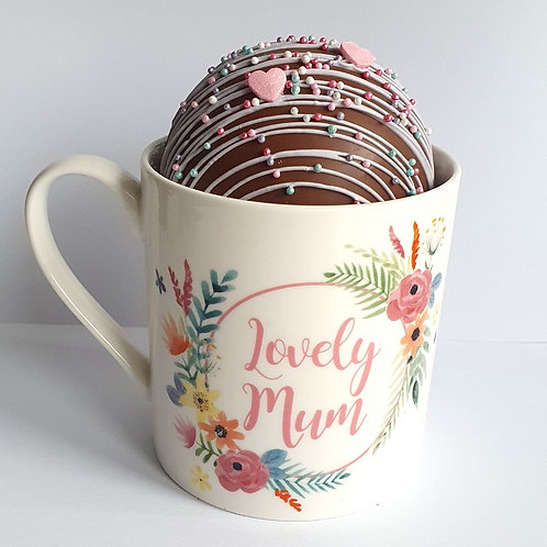 Mothers Day Hot Chocolate Bomb & Mug