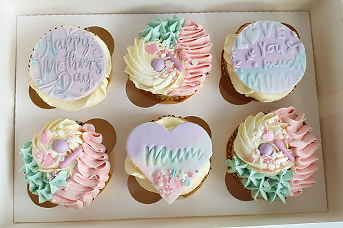 Box of 6 Mothers Day Cupcakes £15 total cost