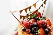 Naked Wedding Cake - Sugar Wishes Cakes Lancashire