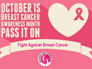 Breast Cancer Awareness Month-October