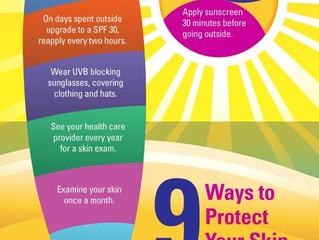 9 ways to protect your skin
