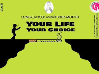 Lung Cancer Awareness Month-November