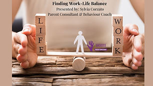 "Copy of ""Work life balance means organiz"