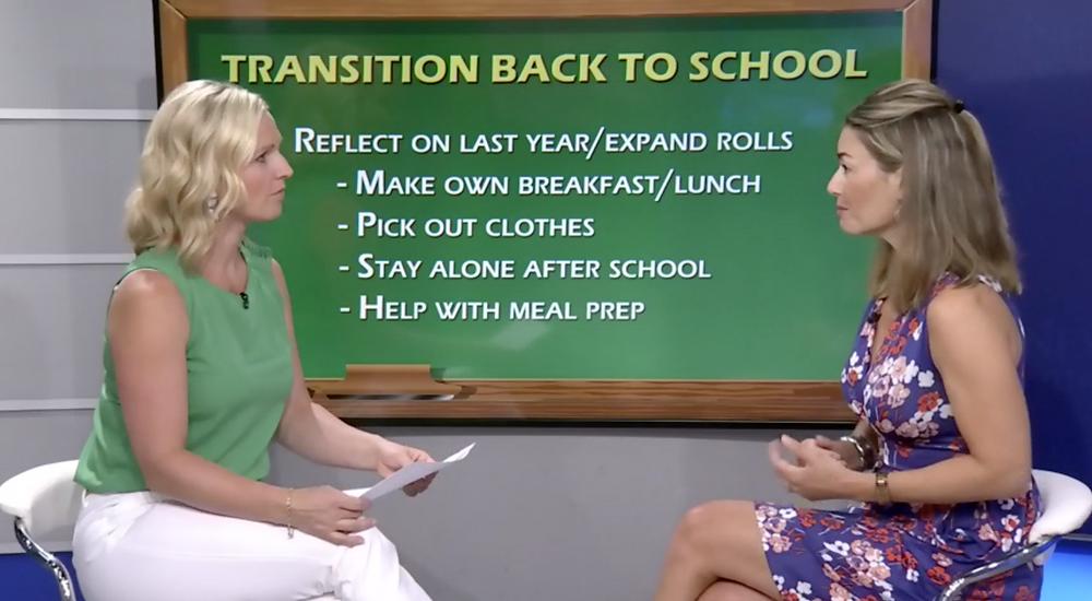 Transition Back to School with Annette Goerner on CTV Morning Live