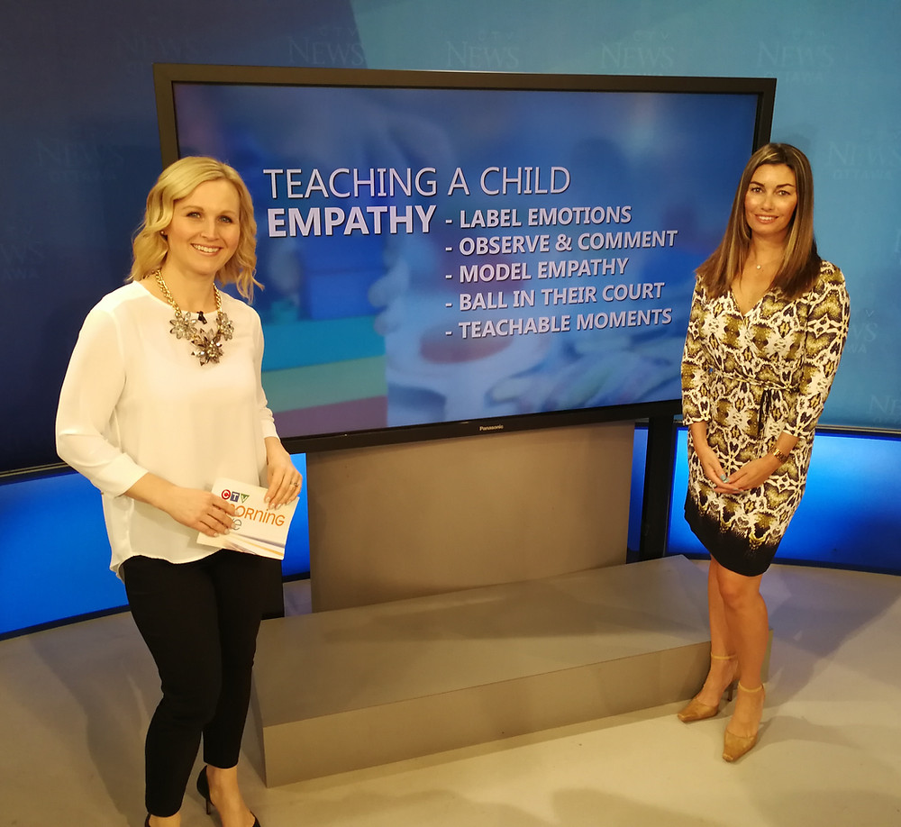 How To Teach Your Child Empathy with Annette Goerner at CTV Morning Live
