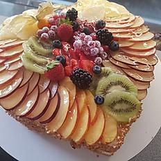 Frucht-Herz Torte