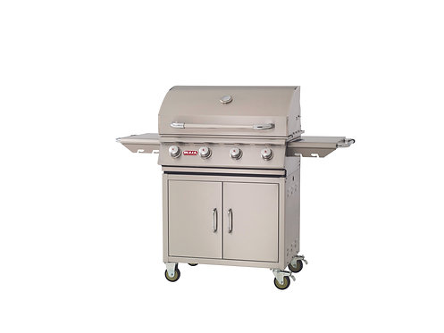 Bull Outlaw 4 Burner Gas Barbecue Cart