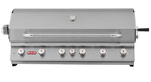 Bull Diablo 6 Burner Built In Grill with Rotisserie