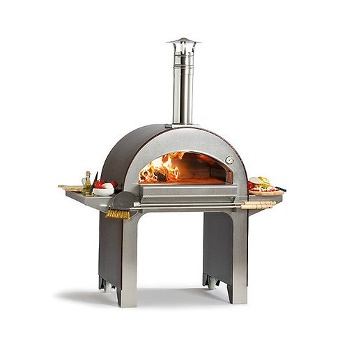 Alfa Forno 4 Pizze Wood-fired Pizza Oven with Base