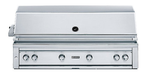 "Lynx 3 Burner 42"" Built in Gas Grill with Rotisserie & Infra Red Pro Sear Burner"
