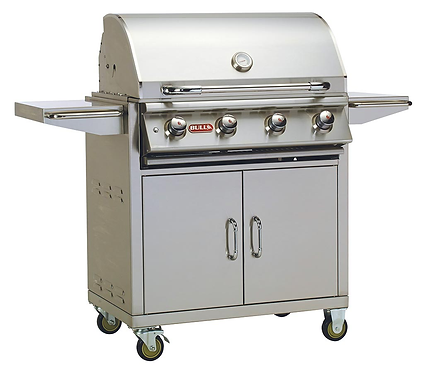 Bull Lonestar Select 4 Burner BBQ Cart