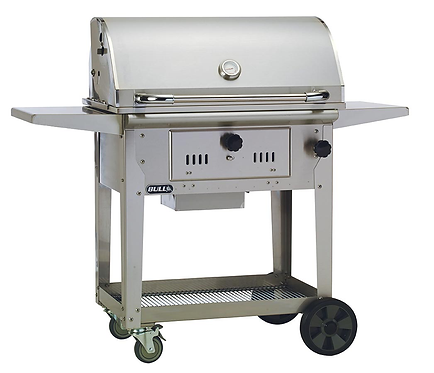 Bull Bison Charcoal Barbecue Cart