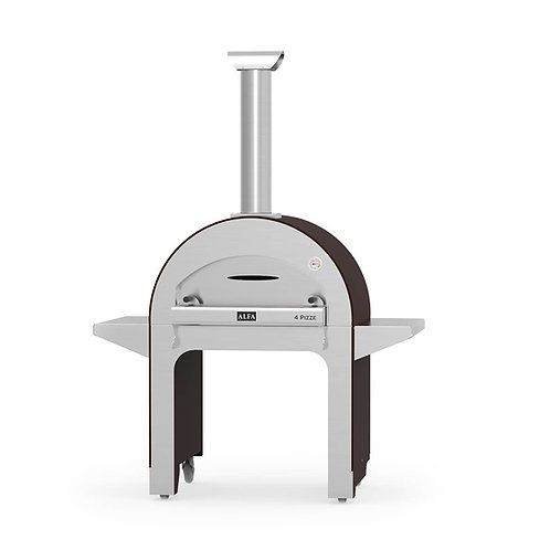 Alfa 4 Pizze Wood-fired Pizza Oven with Base