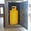 Bull large stainless steel vertical gas bottle access door