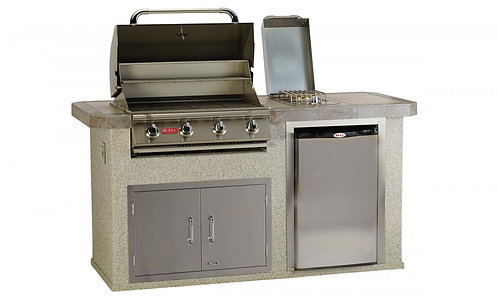 Bull Power - Q Outdoor Kitchen Island (In Stucco)