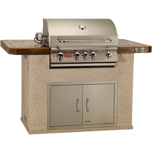 Bull Master - Q Outdoor Kitchen (In Stucco)