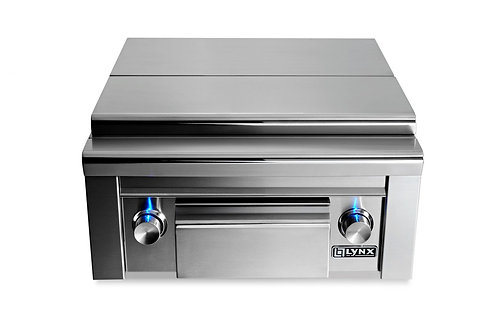 Lynx Built-in Prep centre & Double Side burner with lid