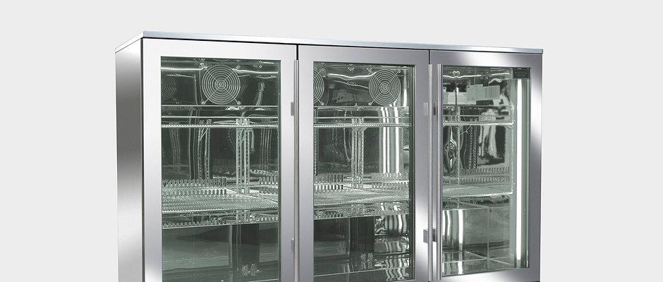 Blastcool Triple Door Outdoor Cooler