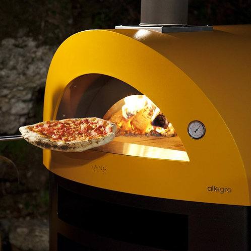 Reduced Alfa Allegro wood-fired pizza oven