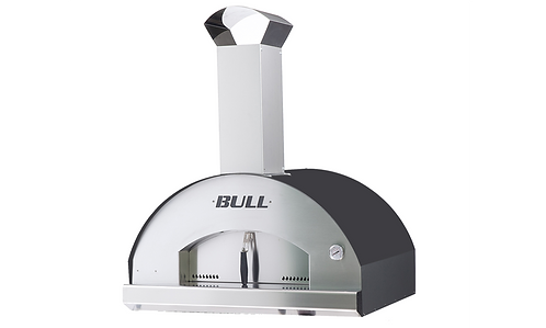 Bull Extra Large wood-fired pizza oven top
