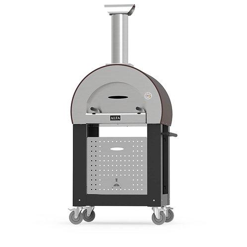 Alfa 5 Minuti Wood-fired Pizza Oven + New Base