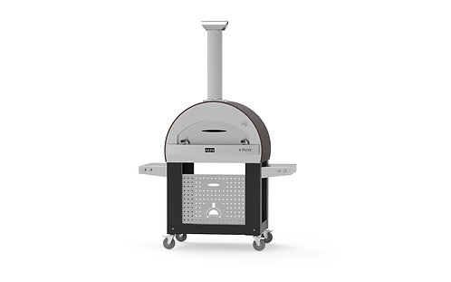 Alfa 4 Pizze Wood-fired Pizza Oven + New Base