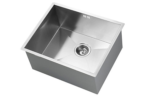 500 Deep sink with chrome Fontaine tap