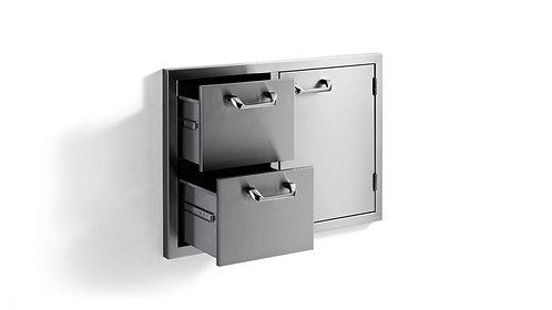 """Lynx Sedona 30"""" Door Drawer Combination"""