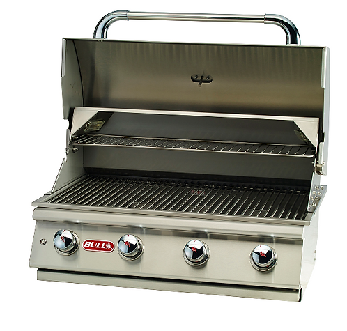 Bull Lonestar 'Select' Built In 4 Burner Gas Barbecue