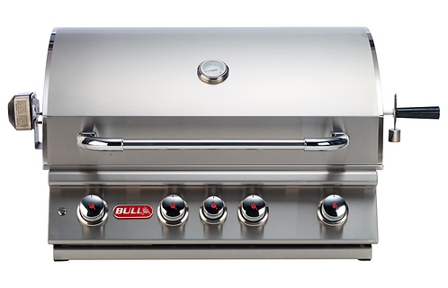 Bull Angus Built In 4 Burner Gas Barbecue