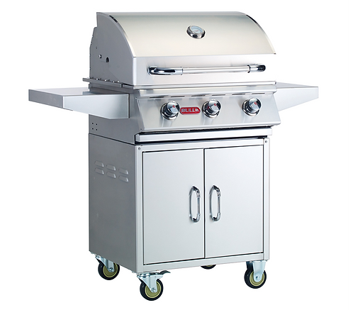 Bull Steer 3 Burner Gas Barbecue